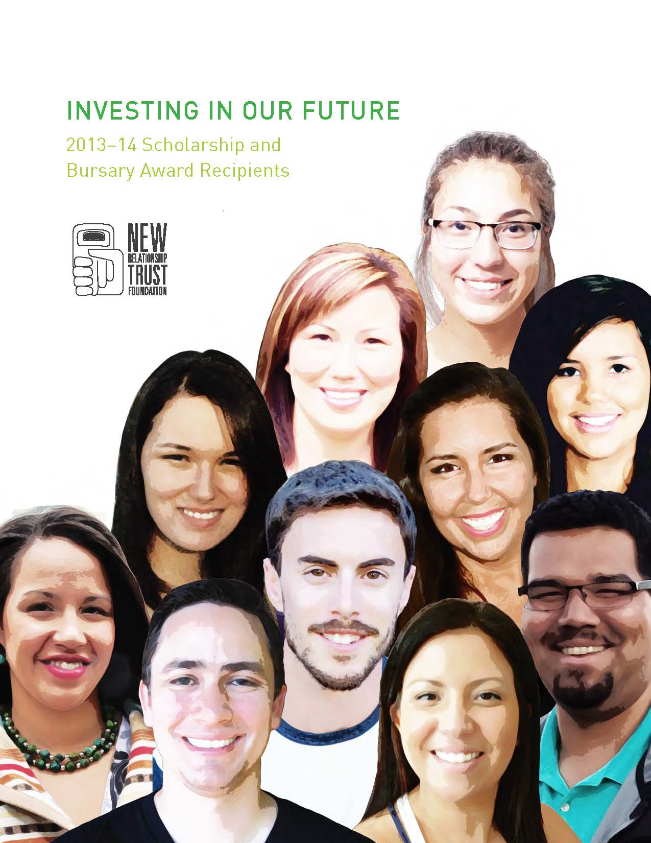 New Relationship Trust First Nations BC 2013 2014 scholarship brochure