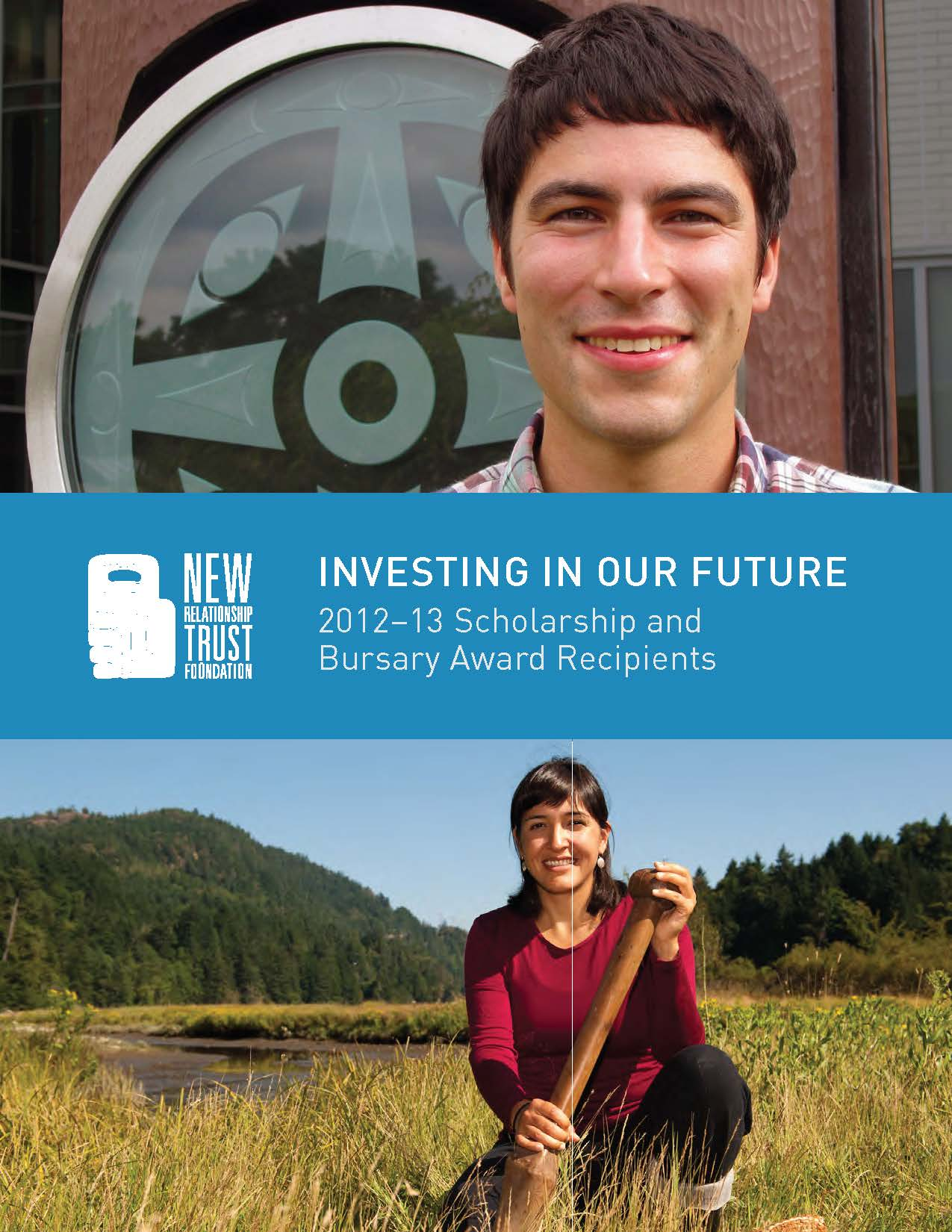 New Relationship Trust First Nations BC 2012 2013 scholarship brochure